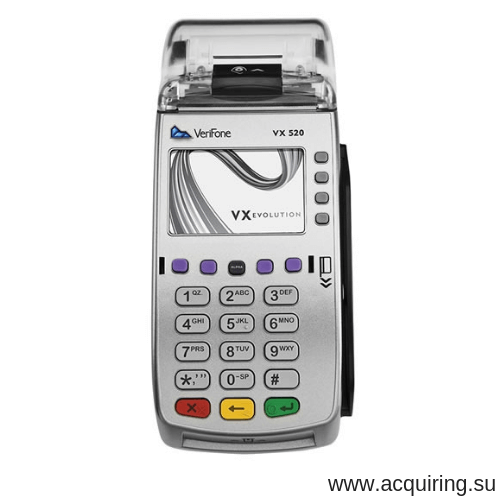POS-терминал Verifone VX520 (Ethernet - локальная сеть) с базовым ПО в Ульяновске
