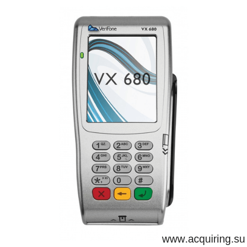 Мобильный POS-терминал Verifone VX680 (Wi-Fi, Bluetooth) под Прими Карту в Ульяновске